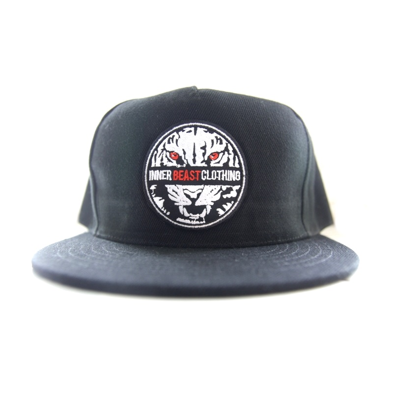 Motivational Gym Wear. Black Hunter Snap back.